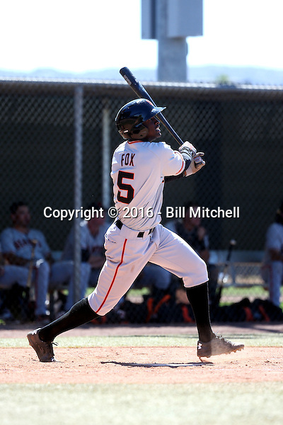 Lucius Fox - San Francisco Giants 2016 spring training (Bill Mitchell)