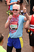 Chris Evans<br /> at the finish of the London Marathon 2019, Greenwich, London<br /> <br /> ©Ash Knotek  D3496  28/04/2019