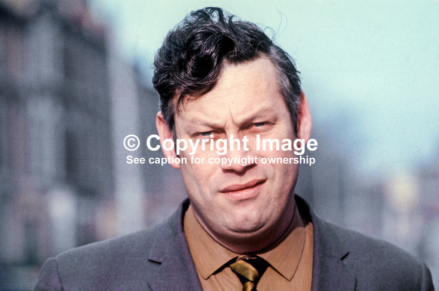 Gerry Lavery, SDLP, candidate, by-election, St Anne&rsquo;s, Belfast, for N Ireland Parliament, November 1970. 197011000380<br />