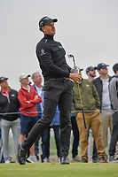 Henrik Stenson (SWE) watches his tee shot on 17 during round 2 of the AT&T Byron Nelson, Trinity Forest Golf Club, Dallas, Texas, USA. 5/10/2019.<br /> Picture: Golffile | Ken Murray<br /> <br /> <br /> All photo usage must carry mandatory copyright credit (© Golffile | Ken Murray)