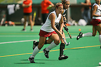 STANFORD, CA - AUGUST 19:  Jennifer Luther of the Stanford Cardinal during Stanford's 4-1 exhibition win over the University of the Pacific on August 19, 2008 at the Varsity Field Turf in Stanford, California.