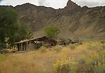 Old homestead along Hwy 93 in Idaho
