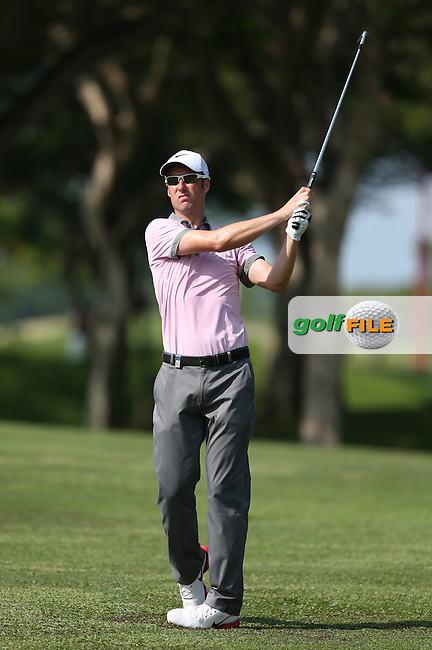 Ross Fisher (ENG) hit six birdies with two mishaps for a 68 during Round Three of the The Championship 2014 from the Laguna National Golf & Country Club, Tampines, Singapore. Picture:  David Lloyd / www.golffile.ie