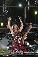 ATENÇÃO EDITOR: FOTO EMBARGADA PARA VEÍCULOS INTERNACIONAIS. - SÃO PAULO - SP -  31 DE DEZEMBRO 2012.REVEILLON NA PAULISTA. - Show de Daniel Mercury, a grande atração da festa de ano novo na Avenida Paulista, na região central de São Paulo. FOTO: MAURICIO CAMARGO / BRAZIL PHOTO PRESS.