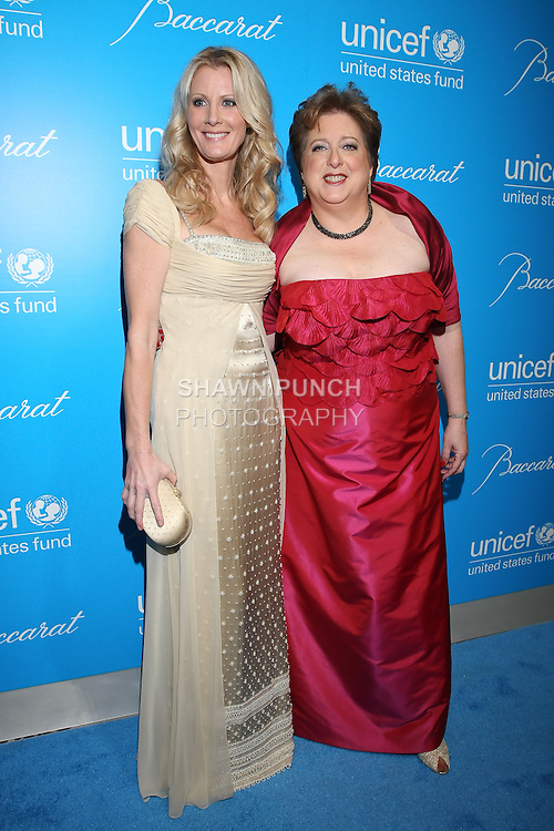 Food Network Sandra Lee, and US Fund to UNICEF CEO Caryl Stern arrive at the UNICEF Snowflake Ball, Presented by Baccarat, at Cipriani 42nd Street, November 30, 2010.