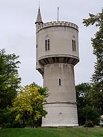 Wasserturm an der Petofiho, Komarno, Nitriansky kraj, Slowakei, Europa<br /> Watertower at Petofiho St., Komarno, Nitriansky kraj, Slovakia, Europe