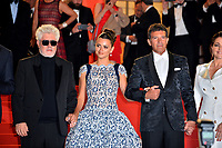"CANNES, FRANCE. May 17, 2019: Pedro Almodovar, Penelope Cruz, Antonio Banderas & Nora Navas at the gala premiere for ""Pain and Glory"" at the Festival de Cannes.<br /> Picture: Paul Smith / Featureflash"