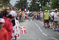 Luke Rowe (GBR/SKY) & Ian Stannard (GBR/Sky) up the last meters of the Montée de Bisanne (HC/1723m/12.4km/8.2%)<br /> <br /> Stage 19:  Albertville › Saint-Gervais /Mont Blanc (146km)<br /> 103rd Tour de France 2016