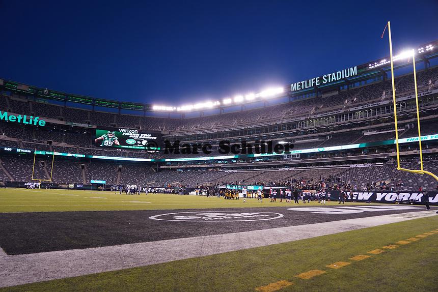 Innenraum des Met Life Stadium - 08.12.2019: New York Jets vs. Miami Dolphins, MetLife Stadium New York