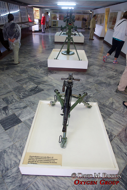 Machine Gun,  Invasion Museum, Giron Museum, Bay Of Pigs (1961)