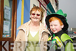MORE TO SEE: Noreen Finn and Niall Moynihan enjoyed seeing the local groups taking part in the Castlegregory St. Patricks Day Parade on Saturday...
