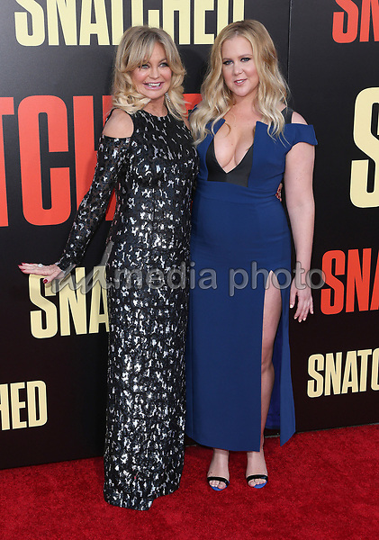 "10 May 2017 - Westwood, California - Goldie Hawn, Amy Schumer. ""Snatched"" World Premiere held at the Regency Village Theatre. Photo Credit: AdMedia"