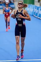 Emilie Morier of France during the 2017 Madrid ITU Triathlon World Cup in Madrid, May 28, 2017. Spain.. (ALTERPHOTOS/Rodrigo Jimenez) /NortePhoto.com