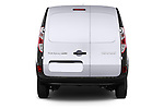 Straight rear view of a 2013 - 2014 Renault Kangoo Express Maxi 5 Door Mini Mpv.