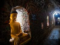 Mrauk U Temples, Rakhine State Buddhas - Shite-thaung Temple - Mrauk U, Rakhine, Burma