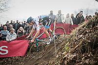 Michael Vanthourenhout (BEL/Marlux-NapoleonGames)<br /> <br /> men's race<br /> CX Soudal Classics Leuven/Belgium 2017