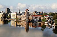 Zaandam-  Verkade fabriek aan de Zaan