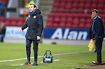 St Johnstone v Motherwell&hellip;17.12.16     McDiarmid Park    SPFL<br />Motherwell assistant James McFadden<br />Picture by Graeme Hart.<br />Copyright Perthshire Picture Agency<br />Tel: 01738 623350  Mobile: 07990 594431