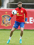 Spain's Gerard Pique during preparing training stage to Euro 2016. May 30,2016.(ALTERPHOTOS/Acero)