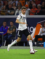 Thomas Mueller (Deutschland Germany) - 13.10.2018: Niederlande vs. Deutschland, 3. Spieltag UEFA Nations League, Johann Cruijff Arena Amsterdam, DISCLAIMER: DFB regulations prohibit any use of photographs as image sequences and/or quasi-video.