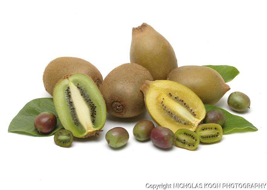 Kiwi Fruit still life.