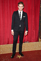 Jared Garfield<br /> arrives for the British Soap Awards 2016 at Hackney Empire, London.<br /> <br /> <br /> &copy;Ash Knotek  D3124  28/05/2016