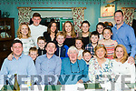 Pat&Ann Casey from Dublin, who have visited the Kingdom County for the past 31yrs and own a property in the  Cloghane-Brandon area, celebrated their 50th Wedding Anniversary in O'Connors bar and guest house, Cloghane village last Sunday evening along with all their children and grand children.