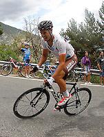 Nicholas Roche during the stage of La Vuelta 2012 between Lleida-Lerida and Collado de la Gallina (Andorra).August 25,2012. (ALTERPHOTOS/Paola Otero) /NortePhoto.com<br /> <br /> **CREDITO*OBLIGATORIO** <br /> *No*Venta*A*Terceros*<br /> *No*Sale*So*third*<br /> *** No*Se*Permite*Hacer*Archivo**<br /> *No*Sale*So*third*