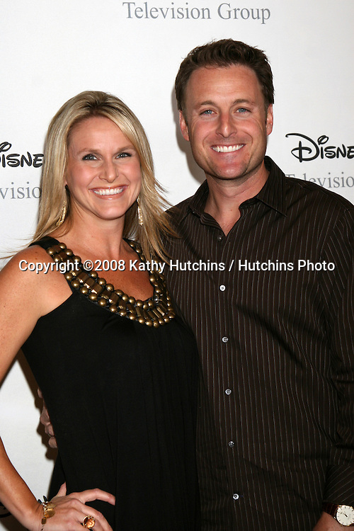 Chris Harrison& Wife  arriving at the ABC TCA Summer 08 Party at the Beverly Hilton Hotel in Beverly Hills, CA on.July 17, 2008.©2008 Kathy Hutchins / Hutchins Photo .