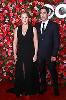 NEW YORK, NY - JUNE 10:  Amy Schumer and Chris Fischer   at the 72nd Annual Tony Awards at Radio City Music Hall in New York City on June 10, 2018.