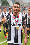 Juventus' player Roberto Pereyra celebrates after winning the South China vs Juventus match of the AET International Challenge Cup on 30 July 2016 at Hong Kong Stadium, in Hong Kong, China.  Photo by Marcio Machado / Power Sport Images