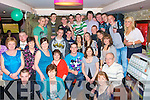 Stephen Healy from O'Rahillys villas, Tralee  (seated centre) celebrated his 21st birthday with friends and family in the Abbey inn on Saturday night.