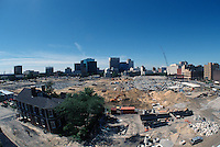 1997 June 05..Redevelopment..Macarthur Center.Downtown North (R-8)..LOOKING SOUTH.FROM FREEMASON GARAGE..NEG#.NRHA#..