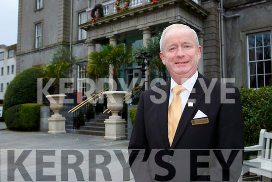 John Fitzgerald who is retiring from the Great Southern Hotel (formerly The Malton)
