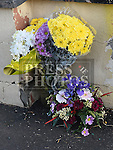 Floral tributes for Josie Duff and Kathy McDonald were they were killed crossing the road at Hunterstown, County Louth. Photo:Colin Bell/pressphotos.ie