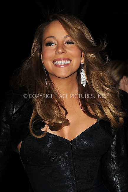 WWW.ACEPIXS.COM . . . . . ....December 8 2009, New York City....Singer Mariah Carey arriving at the launch of VEVO, a new music and video website, at Skylight Studio on December 8, 2009 in New York City.....Please byline: KRISTIN CALLAHAN - ACEPIXS.COM.. . . . . . ..Ace Pictures, Inc:  ..tel: (212) 243 8787 or (646) 769 0430..e-mail: info@acepixs.com..web: http://www.acepixs.com