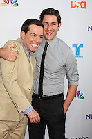 LOS ANGELES - AUG 1:  Ed Helms, John Krasinski  arriving at the NBC TCA Summer 2011 Party at SLS Hotel on August 1, 2011 in Los Angeles, CA