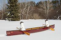 """Whitewater Canoeing in Minnesota""<br />