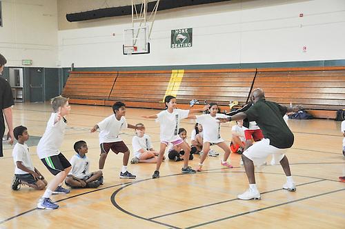 The Harker School - Harker Summer Sports Camp - Basketball G4-8 Coed camp - Photo by Kyle Cavallaro