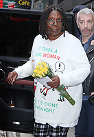 NEW YORK, NY - NOVEMBER 1: Whoopi Goldberg at Good Morning America promoting her new movie Nobody's Fool on November 01, 2018 in New York City. <br /> CAP/MPI/RW<br /> &copy;RW/MPI/Capital Pictures