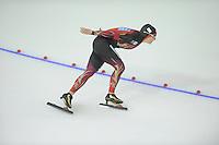 SPEEDSKATING: CALGARY: 13-11-2015, Olympic Oval, ISU World Cup, 3000m, Claudia Pechstein (GER), ©foto Martin de Jong