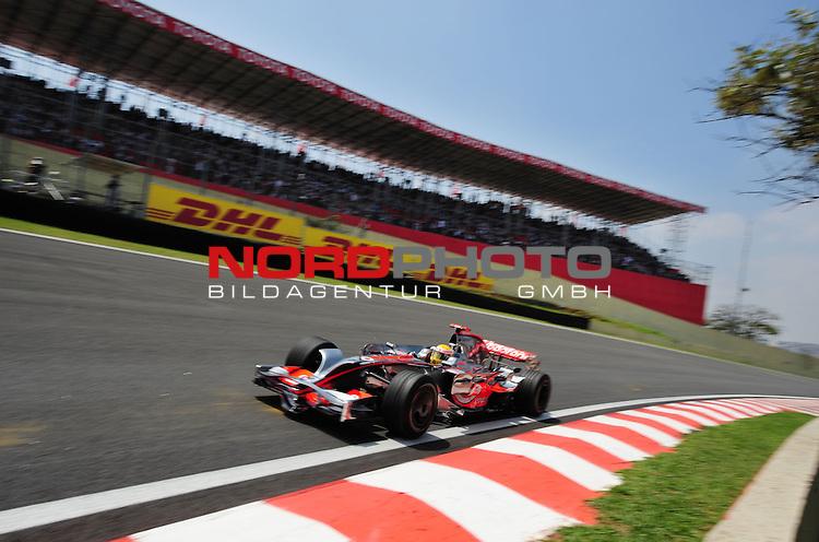 DHL Branding - Lewis Hamilton (GBR), McLaren Mercedes