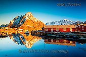 Tom Mackie, LANDSCAPES, LANDSCHAFTEN, PAISAJES, photos,+EU, Europa, Europe, Iceland, Lofoten Islands, Norway, Norwegian, Scandinavia, Tom Mackie, atmosphere, atmospheric, blue, buil+ding, buildings, cabin, destination, destinations, dramatic outdoors, fjord, horizontal, horizontals, landscape, landscapes,+mirror image, mountain, mountainous, mountains, peak, red, reflect, reflecting, reflection, reflections, rugged, season, snow+, snow-covered, tourist attraction, travel, water, water's edge, weather, winter, wintery,EU, Europa, Europe, Iceland, Lofote+,GBTM170096-1,#L#, EVERYDAY