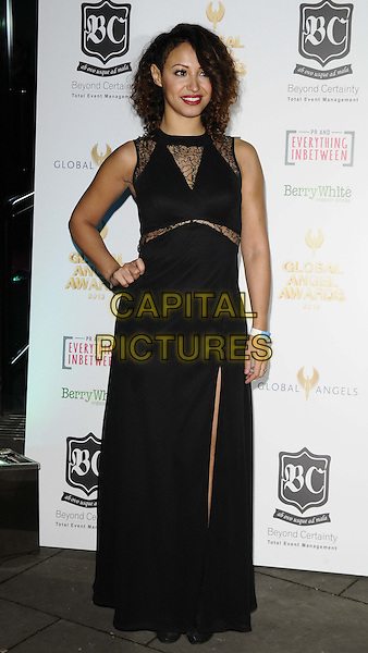 LONDON, ENGLAND,  NOVEMBER 15: Amelle Berrabah at the Global Angel Awards, Angels in Concert, Roundhouse, Chalk Farm Road on Friday November 15th, 2013 in London, England, UK.<br /> CAP/CAN<br /> &copy;Can Nguyen/Capital Pictures