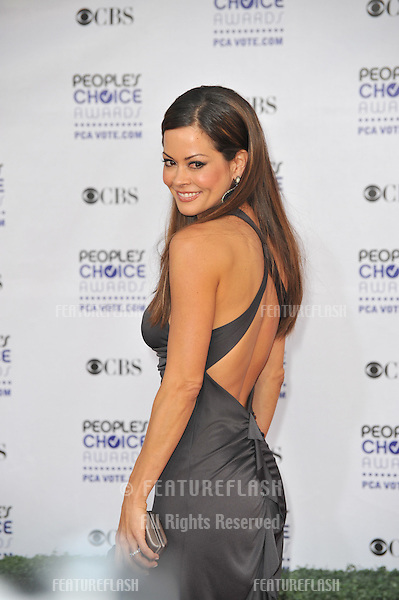 Brooke Burke at the 2009 People's Choice Awards at the Shrine Theatre, Los Angeles..January 7, 2009 Los Angeles, CA.Picture: Paul Smith / Featureflash
