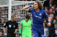 David Luiz of Chelsea during Chelsea vs Fulham, Premier League Football at Stamford Bridge on 2nd December 2018