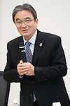 Ryohei Miyata, <br /> JANUARY 17, 2017 : <br /> 1st Mascot Selection Review Conference for the Tokyo 2020 Olympic and Paralympic Games in Tokyo. <br /> (Photo by Sho Tamura/AFLO)