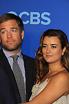NCIS Cast - Michael Weatherly - Cote de Pablo at the CBS Upfront on May 15, 2013 at Lincoln Center, New York City, New York. (Photo by Sue Coflin/Max Photos)