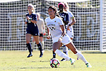 23 October 2016: Wake Forest's Peyton Perea. The Wake Forest University Demon Deacons hosted the University of Notre Dame Fighting Irish at Spry Stadium in Winston-Salem, North Carolina in a 2016 NCAA Division I Women's Soccer match. Notre Dame won the game 1-0.