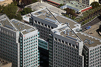 aerial photograph Adobe Systems San Jose, San Clara county, California